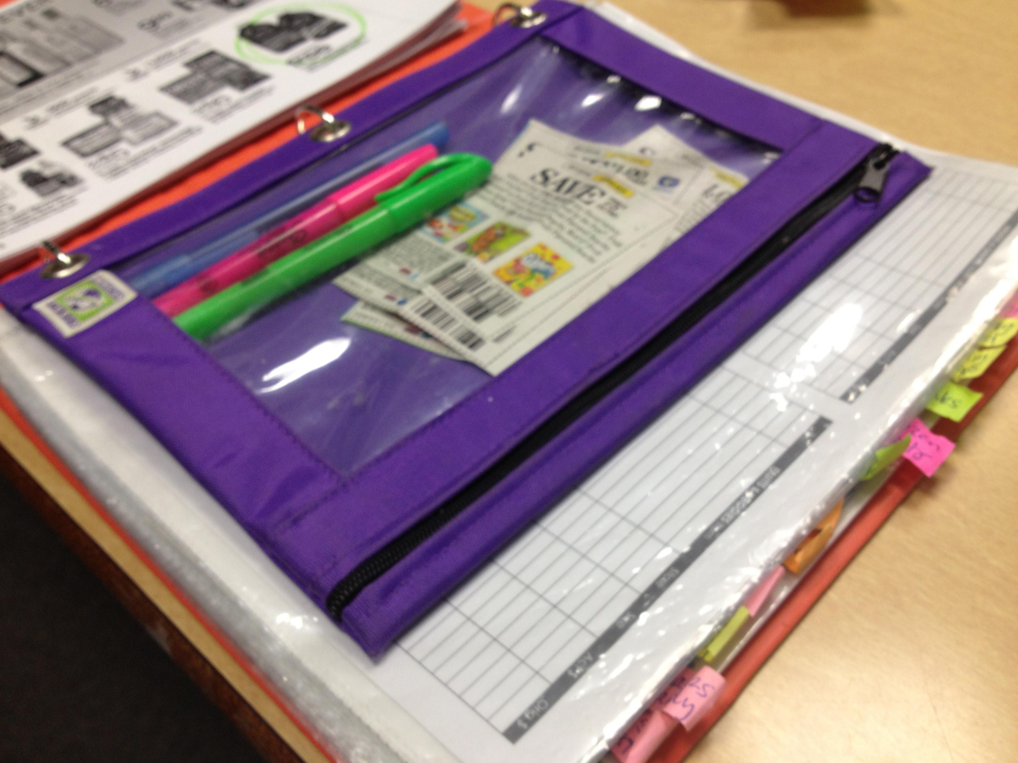 Image Gallery organized binder