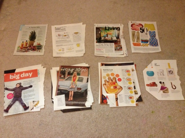 Magazine Page Sorting