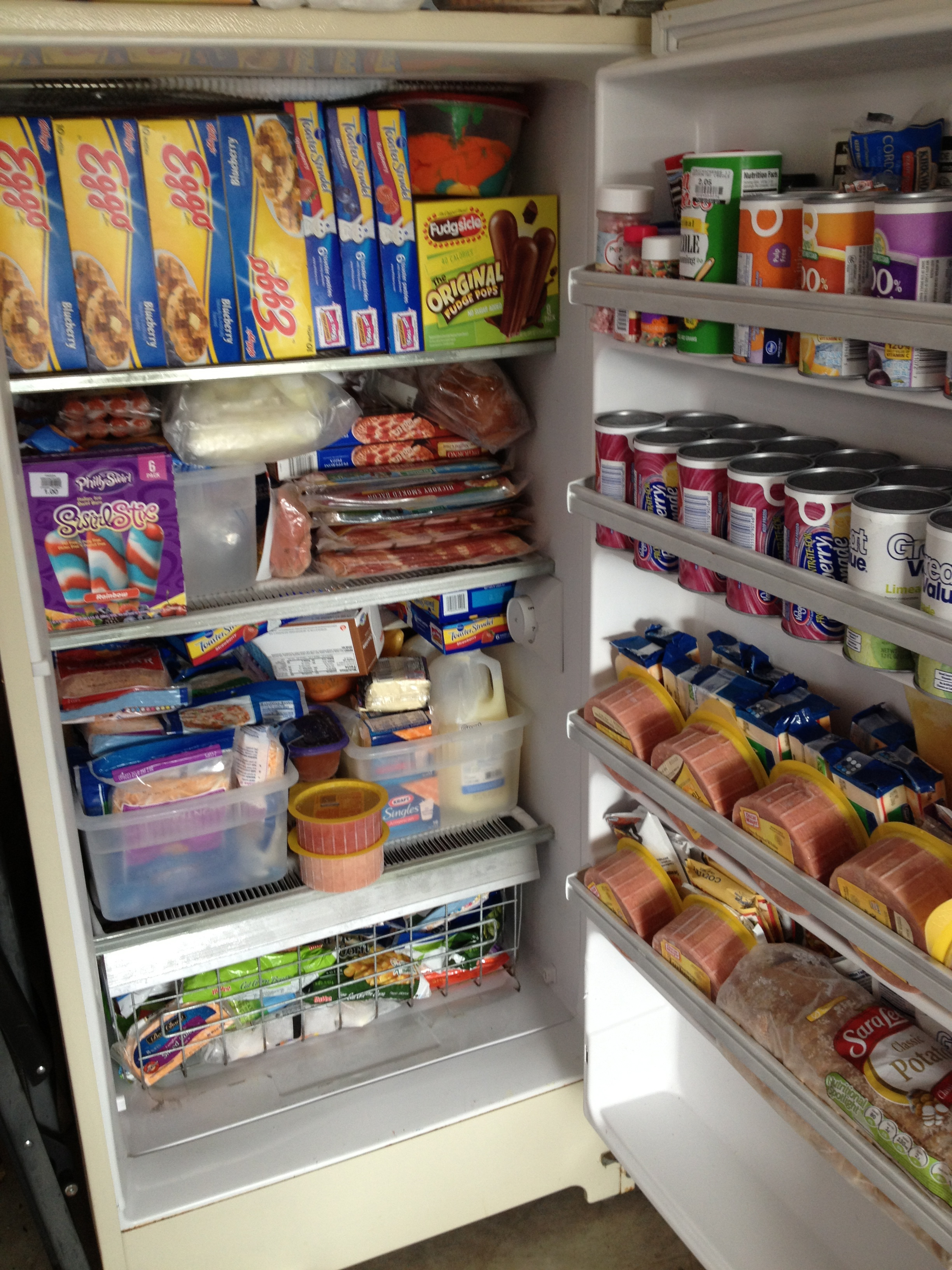 Organized home fantastic freezers andreabcreative The most organized home