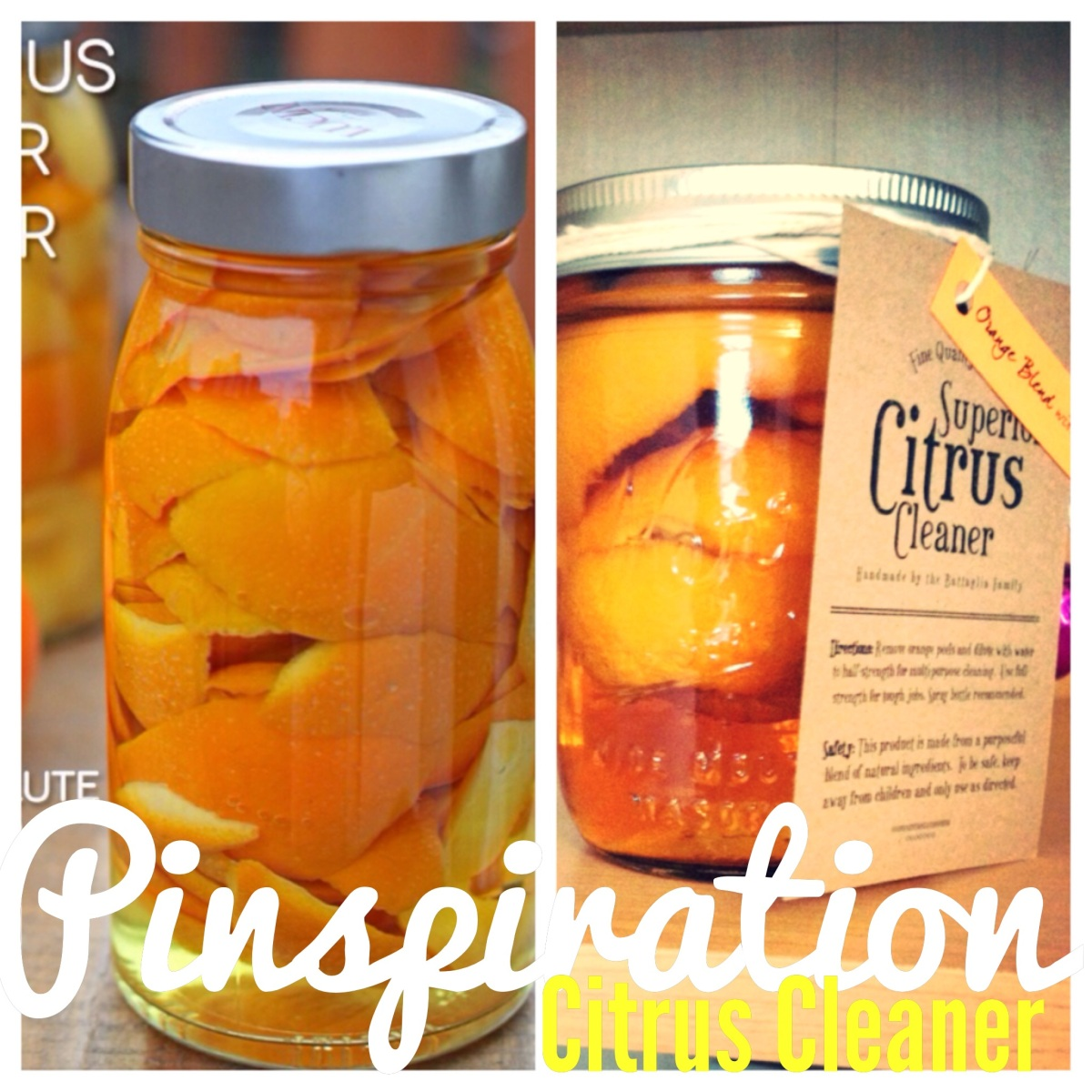 Pinspiration | Citrus Cleaner