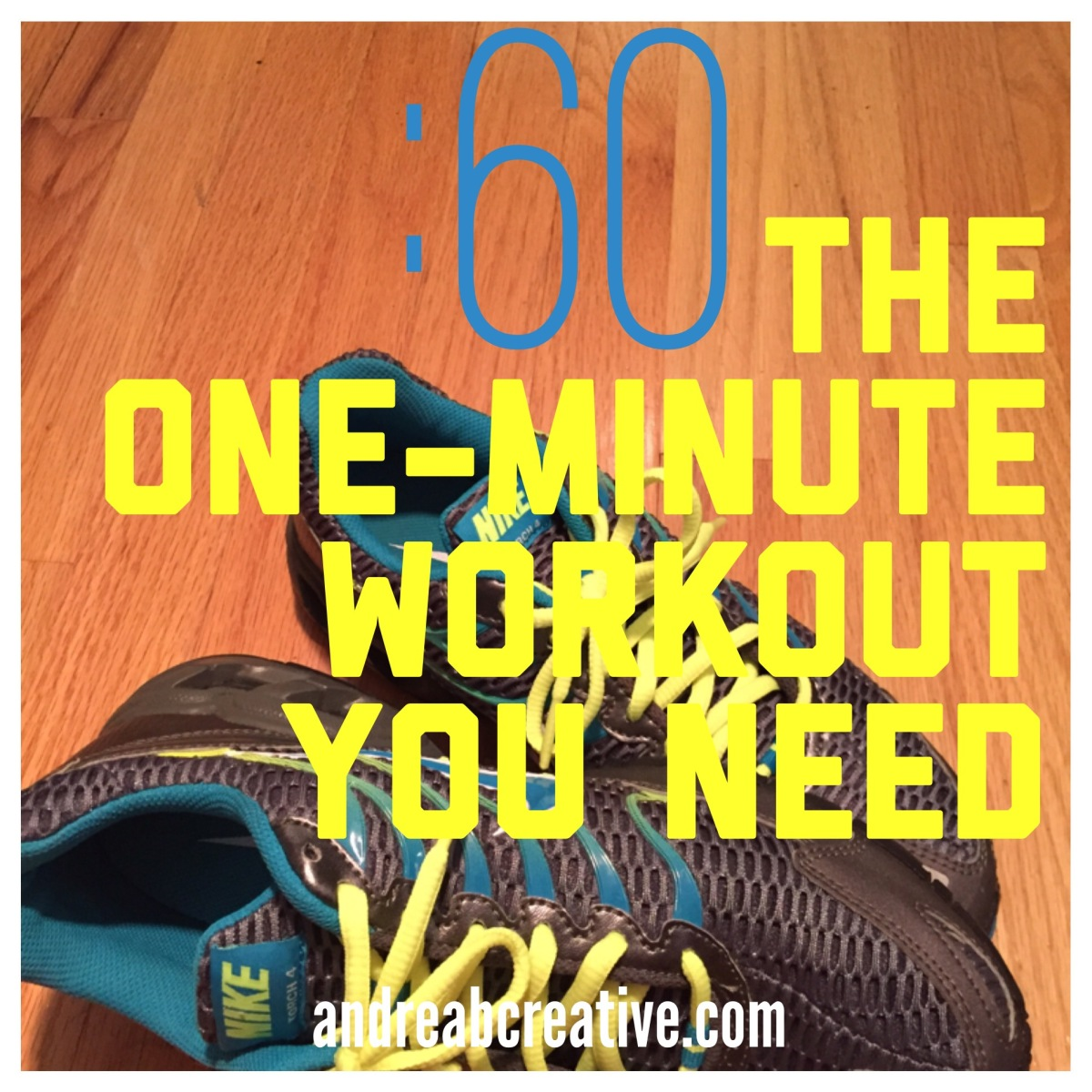 The 1-minute workout! Helps you lose inches and will change your life